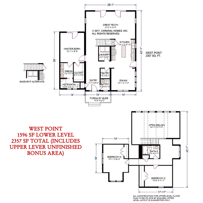 West Point Floor Plan Image