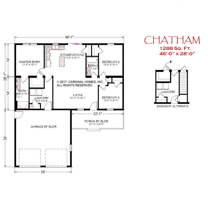 Chatham Floor Plan Image