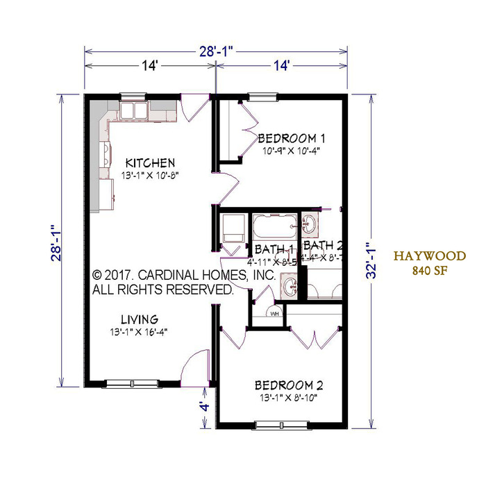 Haywood Floor Plan Image