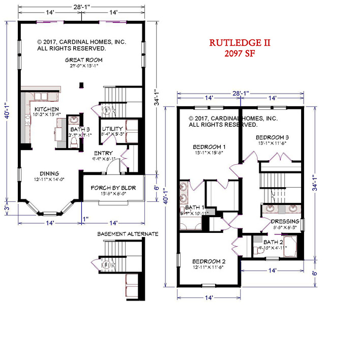 Rutledge II Floor Plan Image