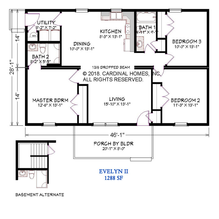 Evelyn II Floor Plan Image