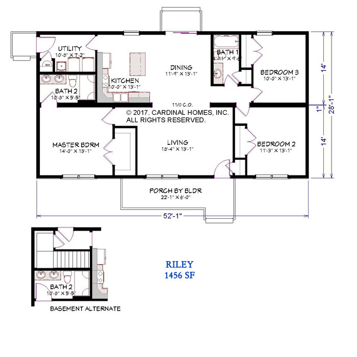 Riley Floor Plan Image
