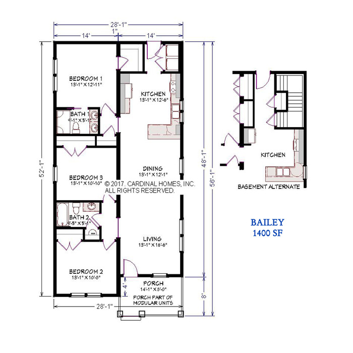 Bailey Floor Plan Image