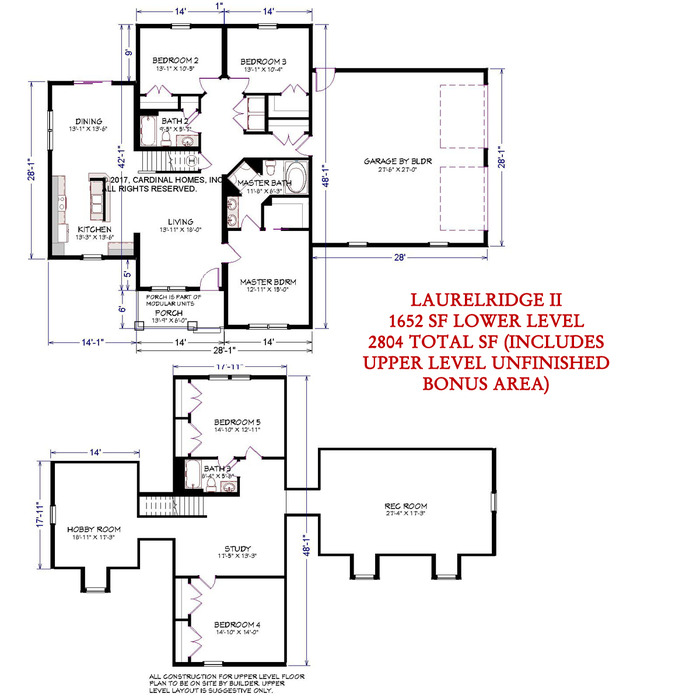 Laurelridge II Floor Plan Image