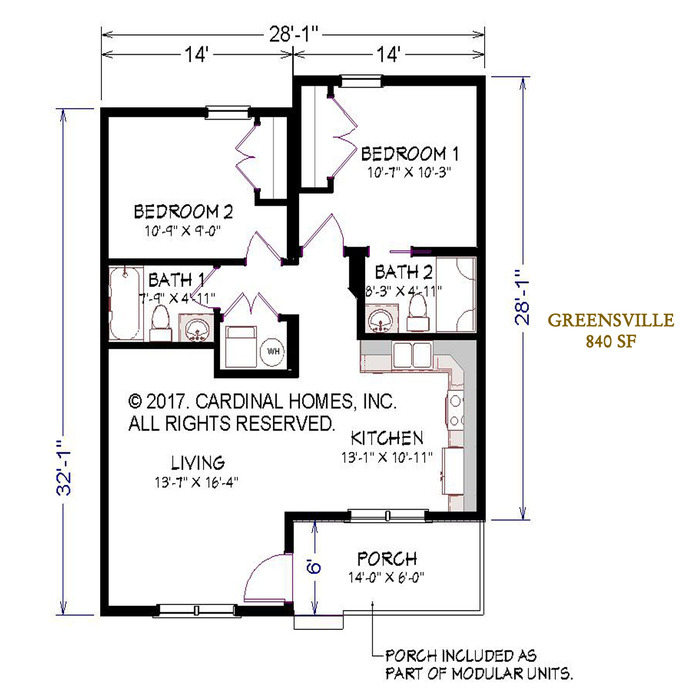 Greensville Floor Plan Image