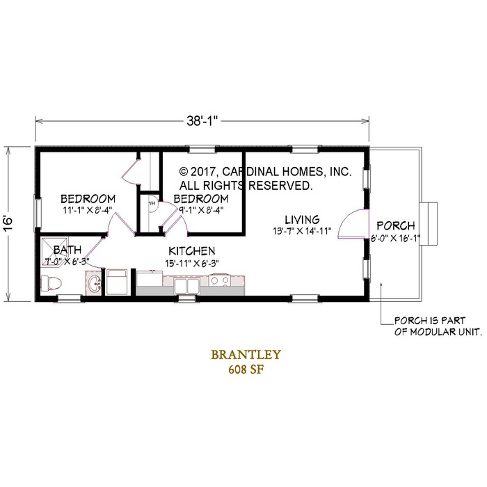 Brantley Floor Plan Image