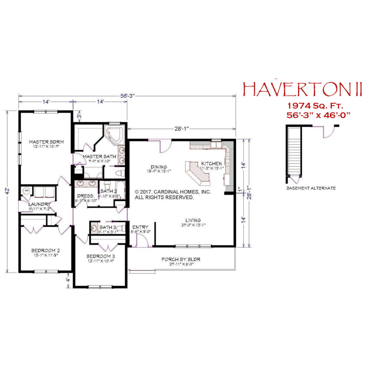 Floor Plan Details - Cardinal Homes, Inc on