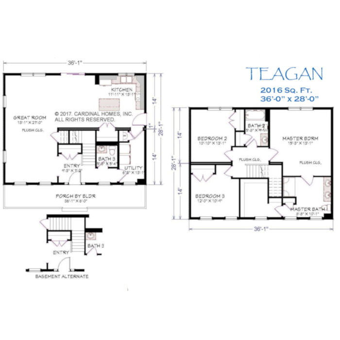 Teagan Floor Plan Image